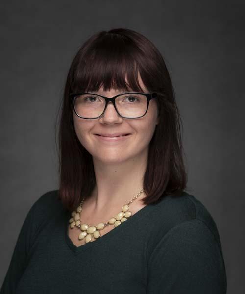 photo of Jennifer Brandom, Graduate Assistant