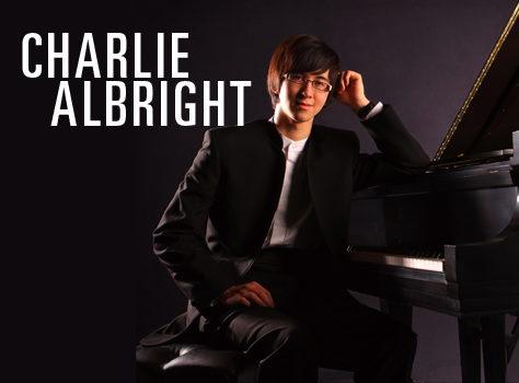 CHARLIE ALBRIGHT, pianist