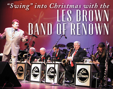"""Swing into Christmas""  LES BROWN BAND OF RENOWN"