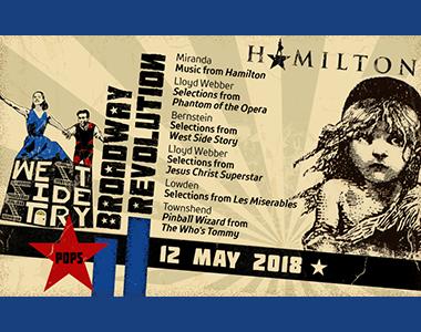 SPRINGFIELD SYMPHONY - Broadway Revolution