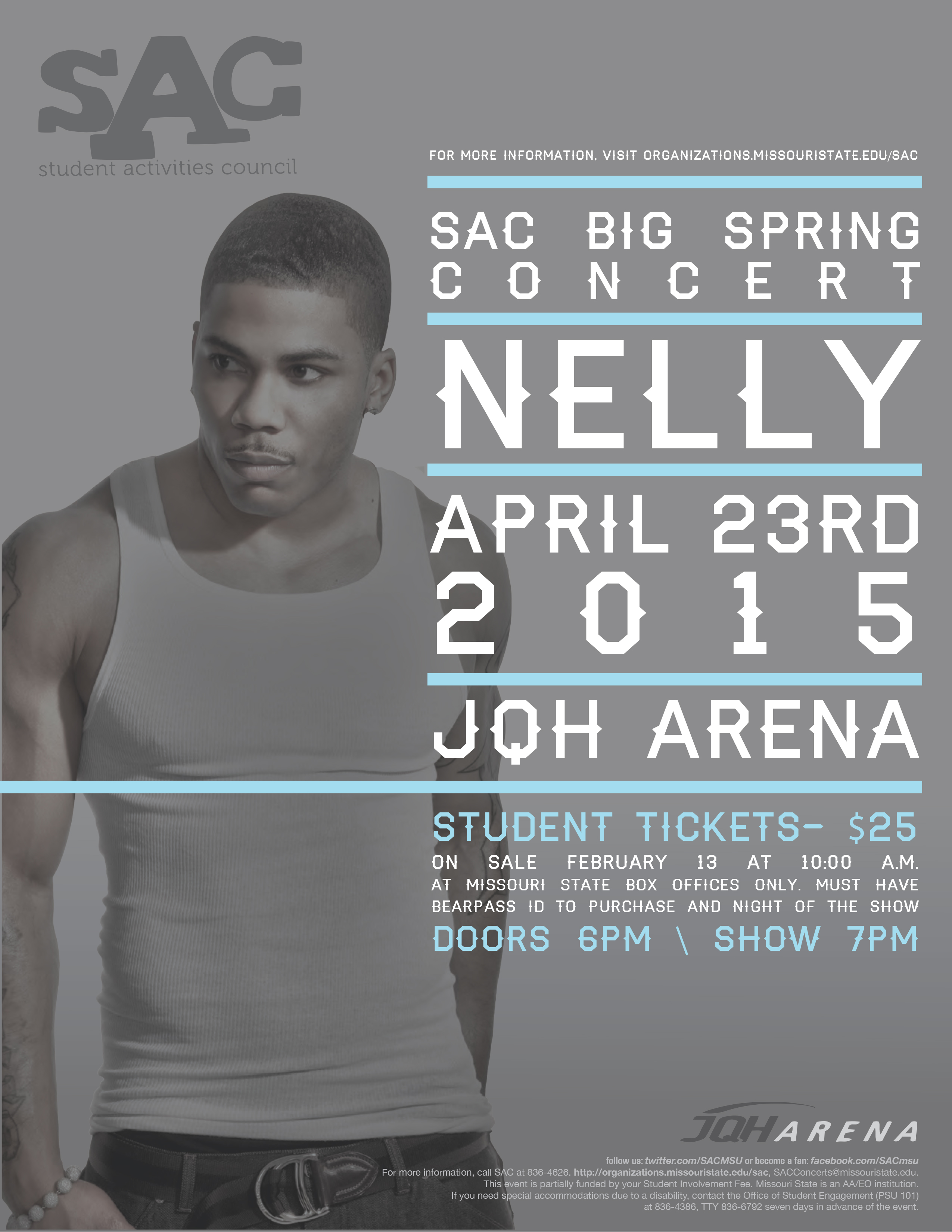 SAC Presents - Nelly