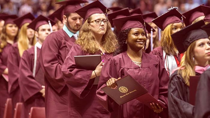 Missouri State University Fall Commencement
